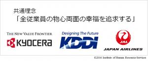 京セラ-KDDI-JAL共通理念
